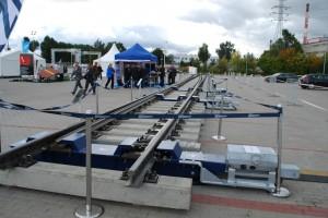 rozjazd kolejowy dużych prędkości