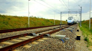 Rozjazd kolejowy 250 km/h